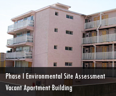 Phase I Environmental Site Assessment, Vacant Apartment Building