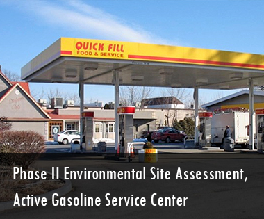 Phase II Environmental Site Assessment, Active Gasoline Service Center