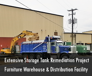 Furniture Warehouse and Distribution Facility Extensive Storage Tank Remediation Project