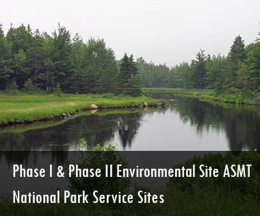 Phase I and Phase II Environmental Site Assessments National Park Service Sites