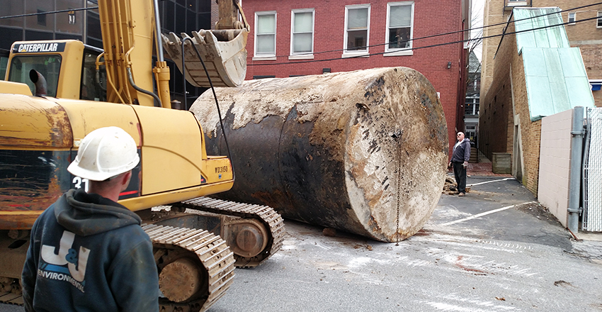 West Chester Borough Office Building 10,000-Gallon Underground Tank Closure